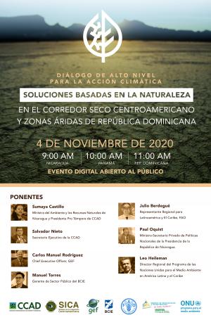 Diálogo de alto nivel el 4 de noviembre 2020