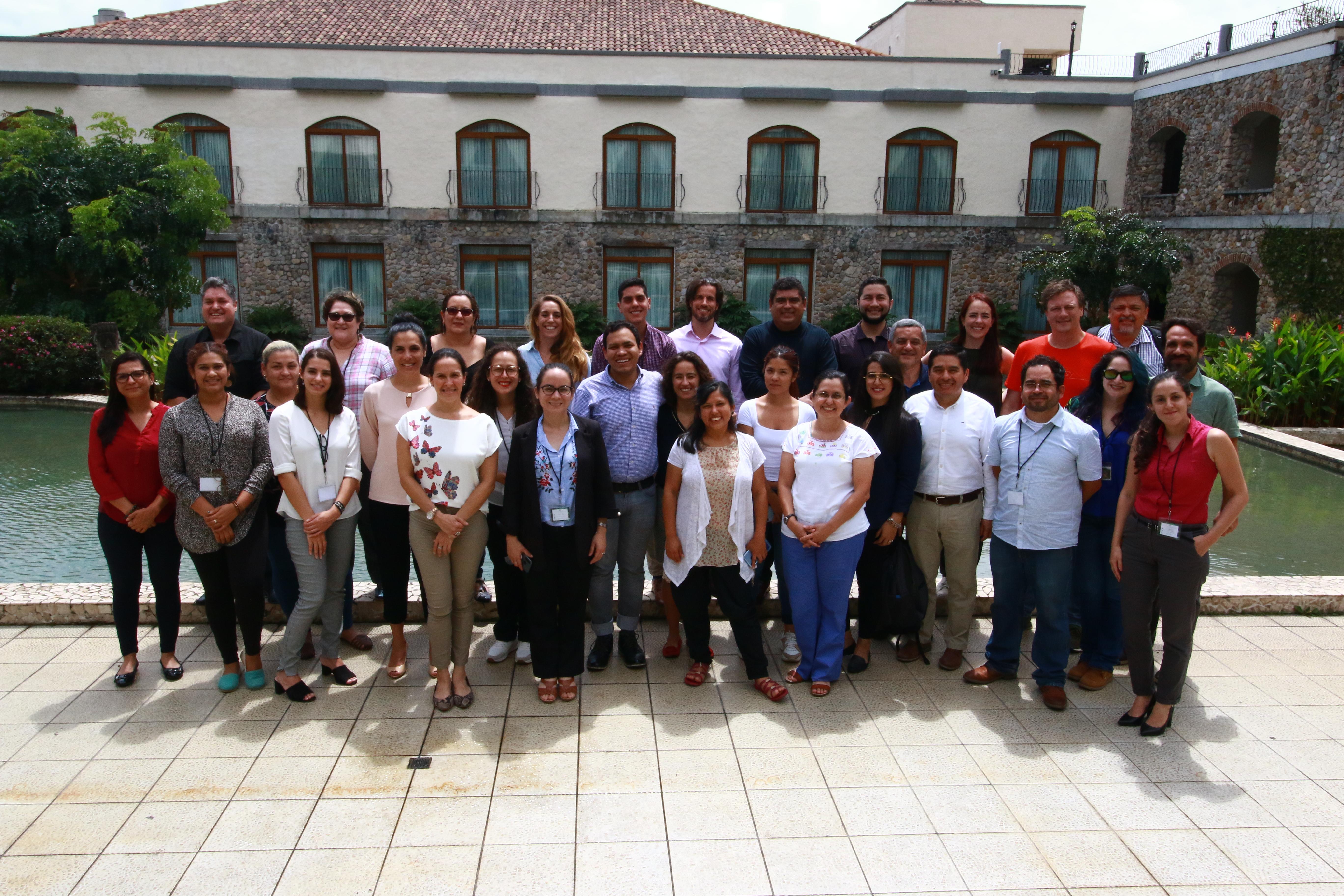 2019, Valle de Antón, Panamá, Taller regional del equipo de Adaptación al Cambio Climático Feb 2020