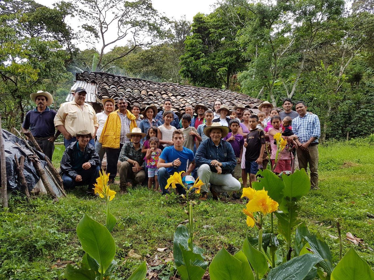 2017, Intercambio de conocimientos y experiencias en adaptación al cambio climático en América Latina y el Caribe, Colombia-Honduras